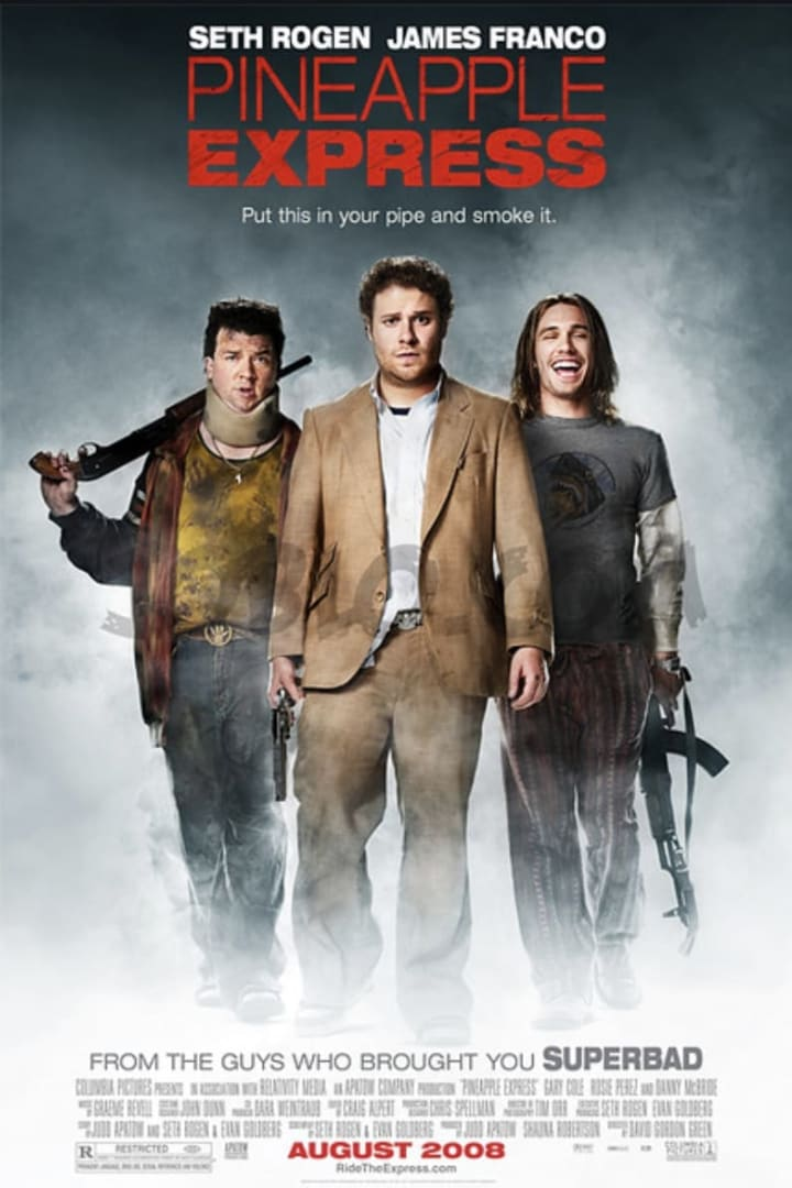Movie poster for Pineapple Express
