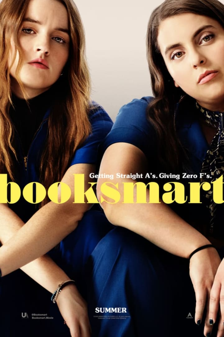 Movie poster for Booksmart