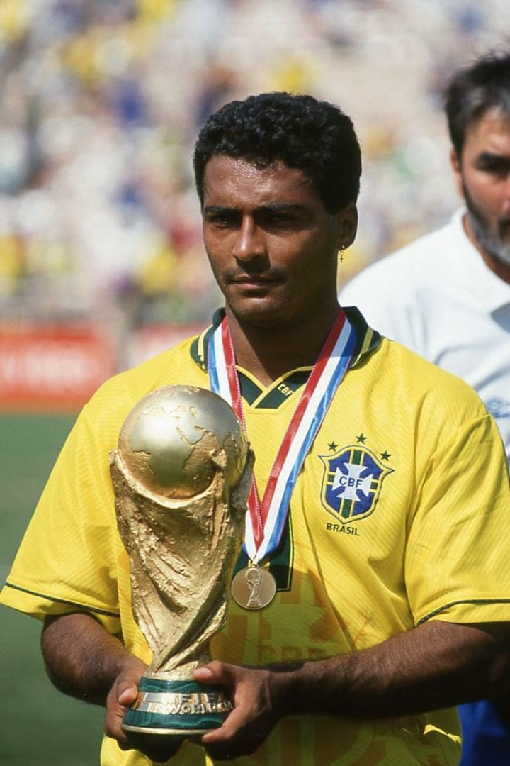 Romario served as the protagonist in Brazil's 1994 World Cup victory