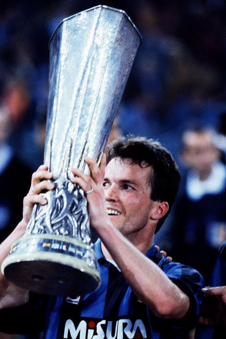 Lothar Matthaus was Inter's top scorer in the UEFA Cup with six goals