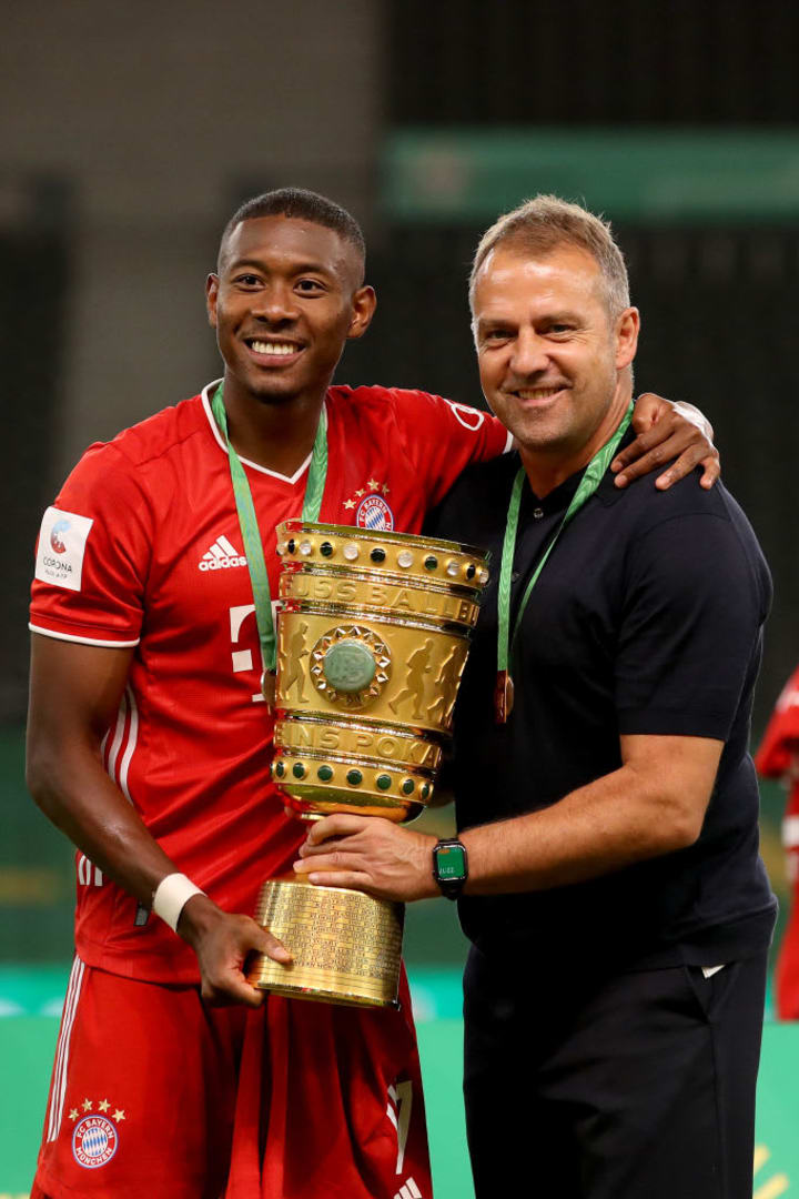 Hans-Dieter Flick, David Alaba