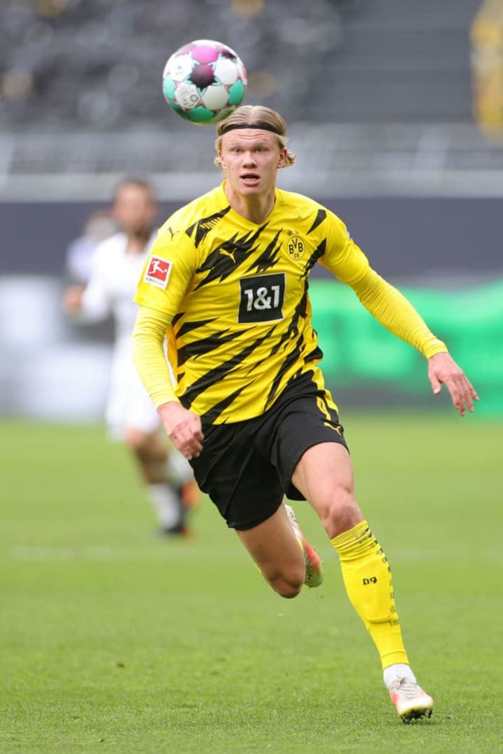 Could Erling Haaland be on his way to Manchester City this summer?