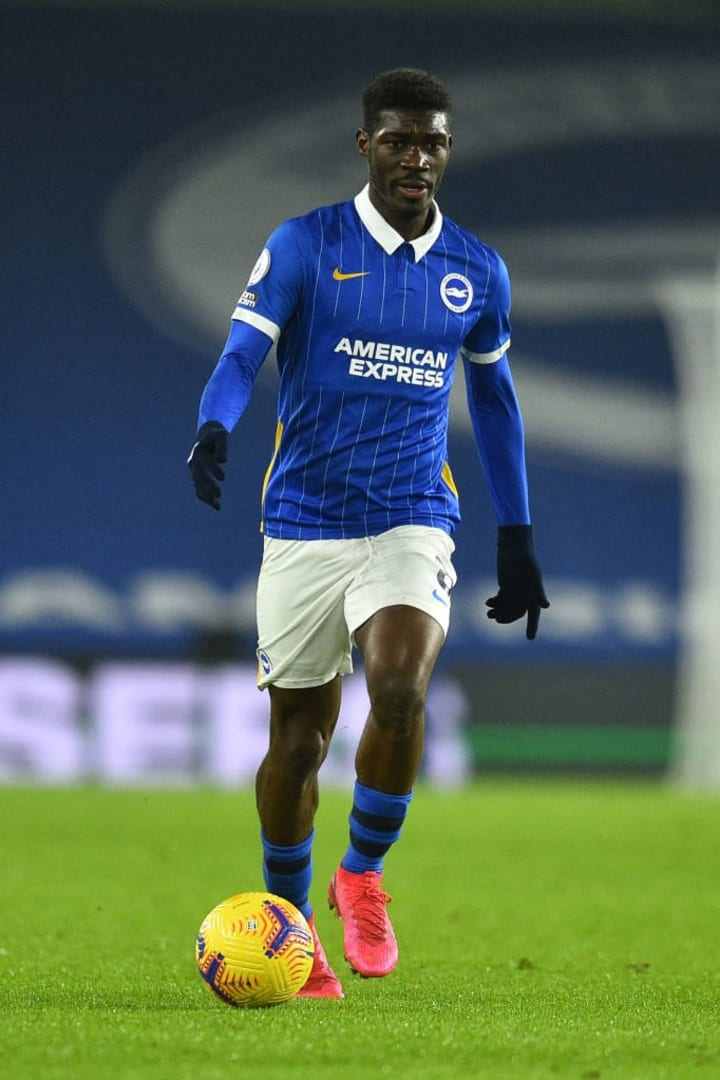 Yves Bissouma has attracted plenty of attention with his performances for Brighton this season