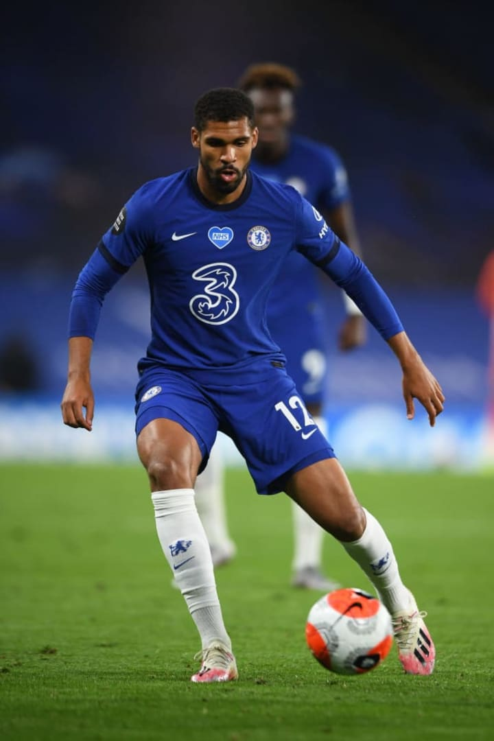 Loftus-Cheek was recovering from an Achilles injury last season