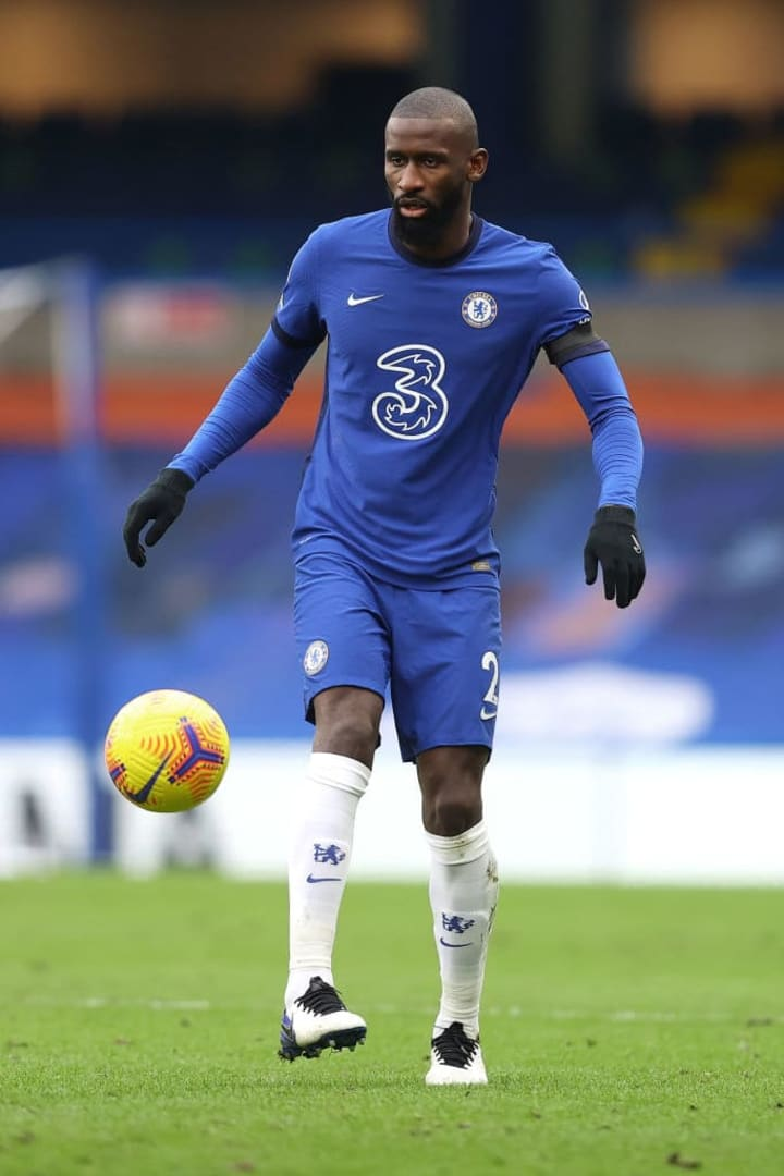 Rudiger suffered a barrace of racial abuse online