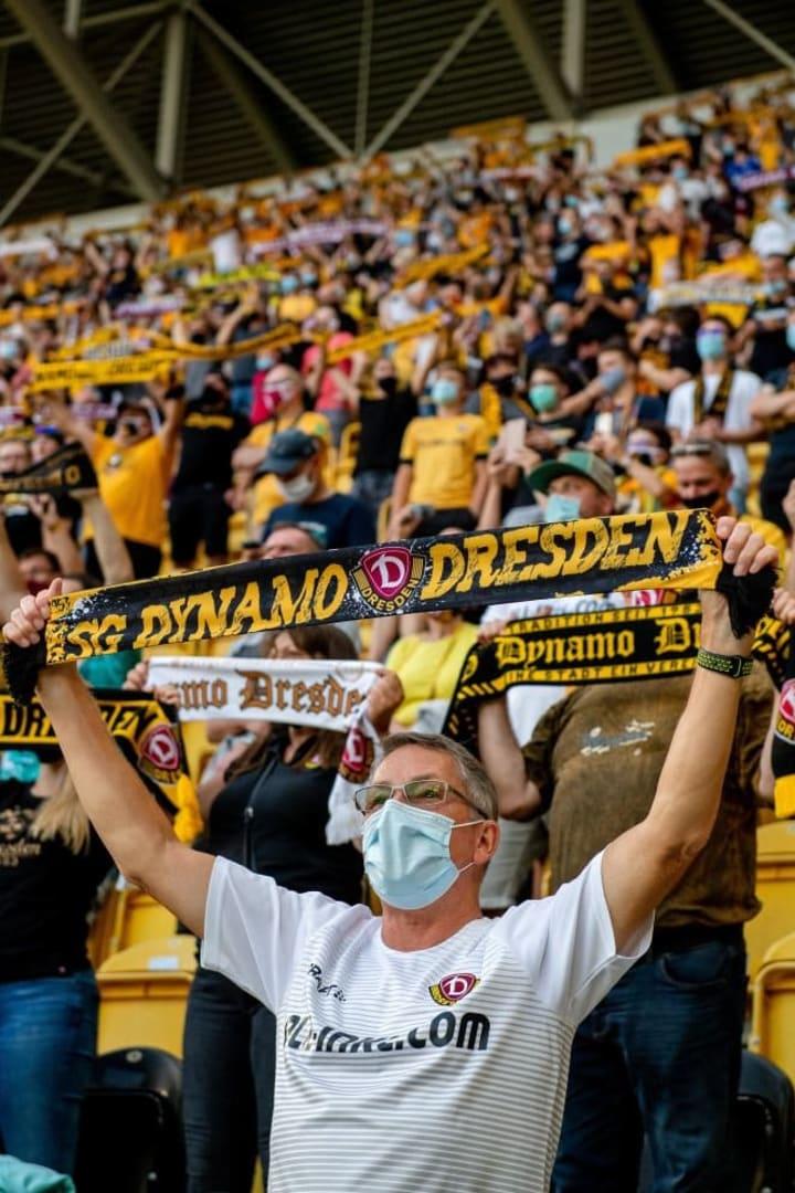 Die Dresdner Fans konnten bis dato zufrieden sein