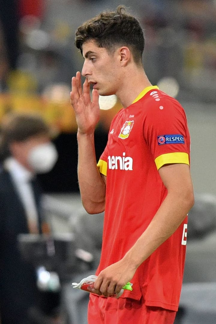 Havertz had a fantastic season, notching 12 goals and 6 assists for Leverkusen in the Bundesliga