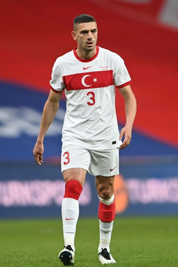 Demiral is a regular for Turkey
