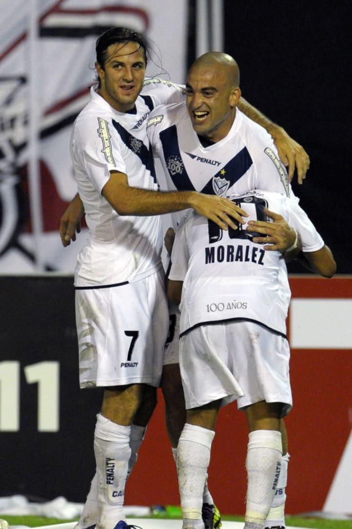Footballer Sebastian Silva (R), of Argen