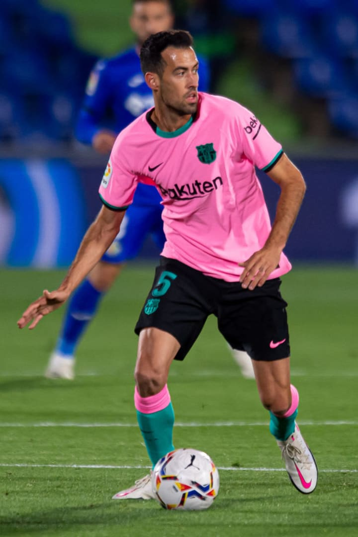 Busquets could be set to return to the starting XI