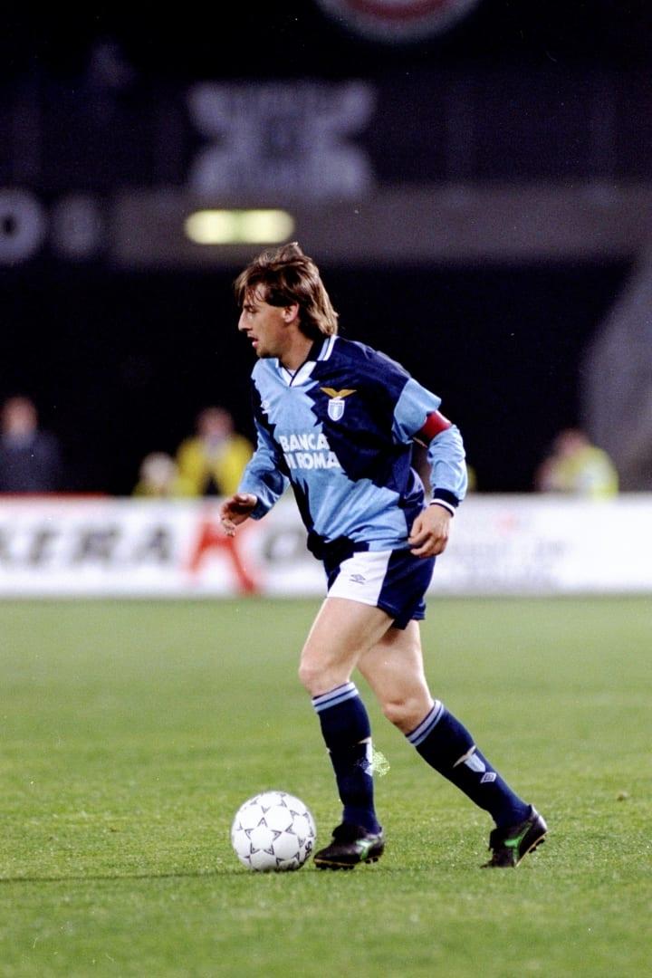 Giuseppe Signori of Lazio
