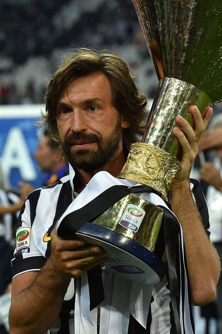 It's Andrea Pirlo's first competitive game in charge this weekend.