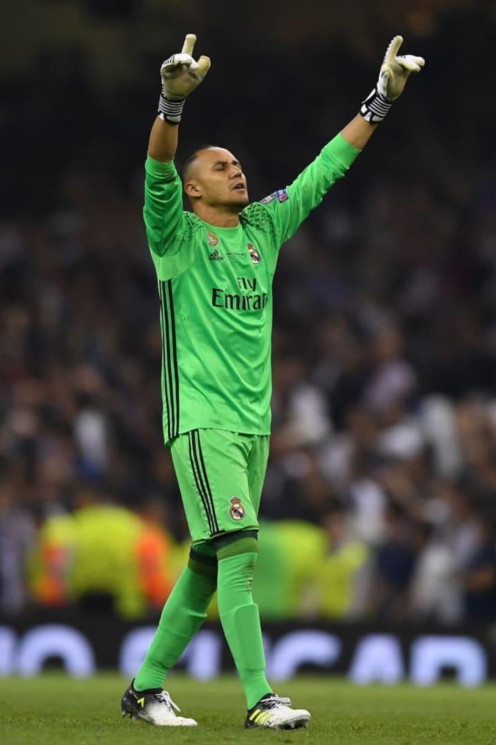 Keylor Navas Real Madrid Paris Saint-Germain Copa do Mundo Costa Rica 2014