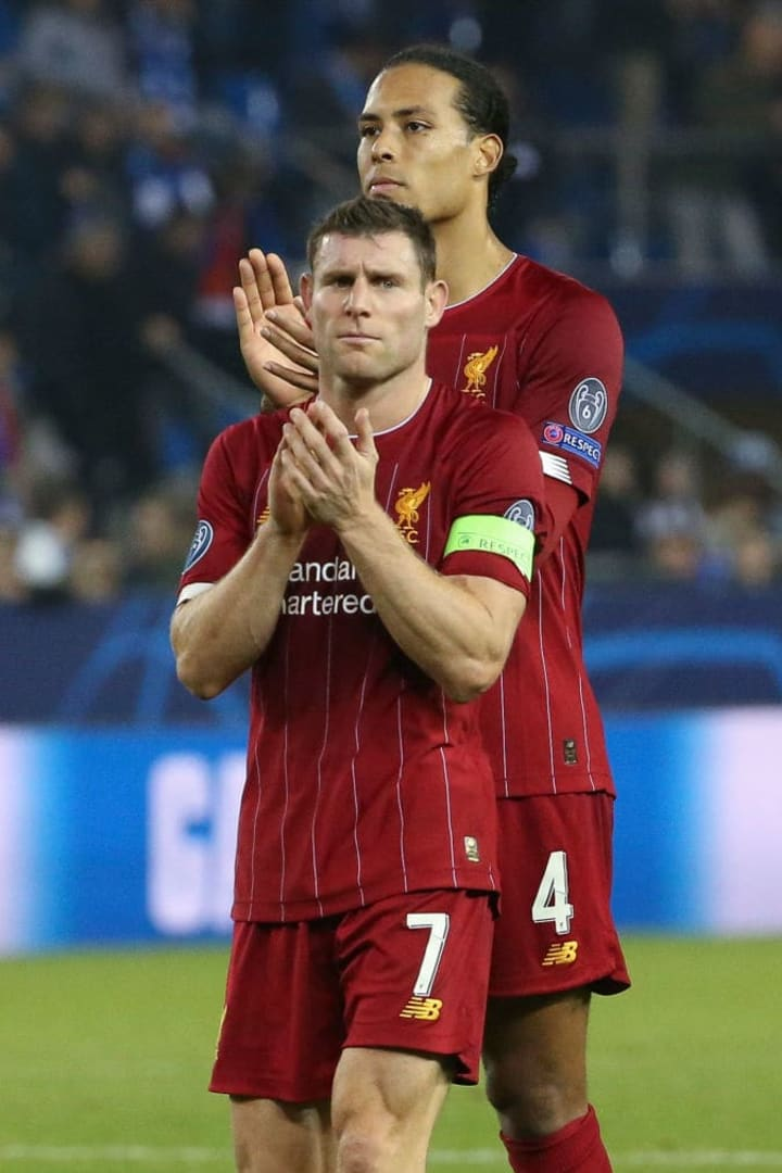 James Milner, Virgil Van Dijk