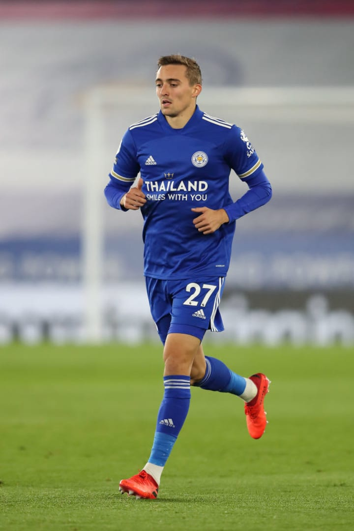Timothy Castagne has been very influential going forward for the Foxes this season