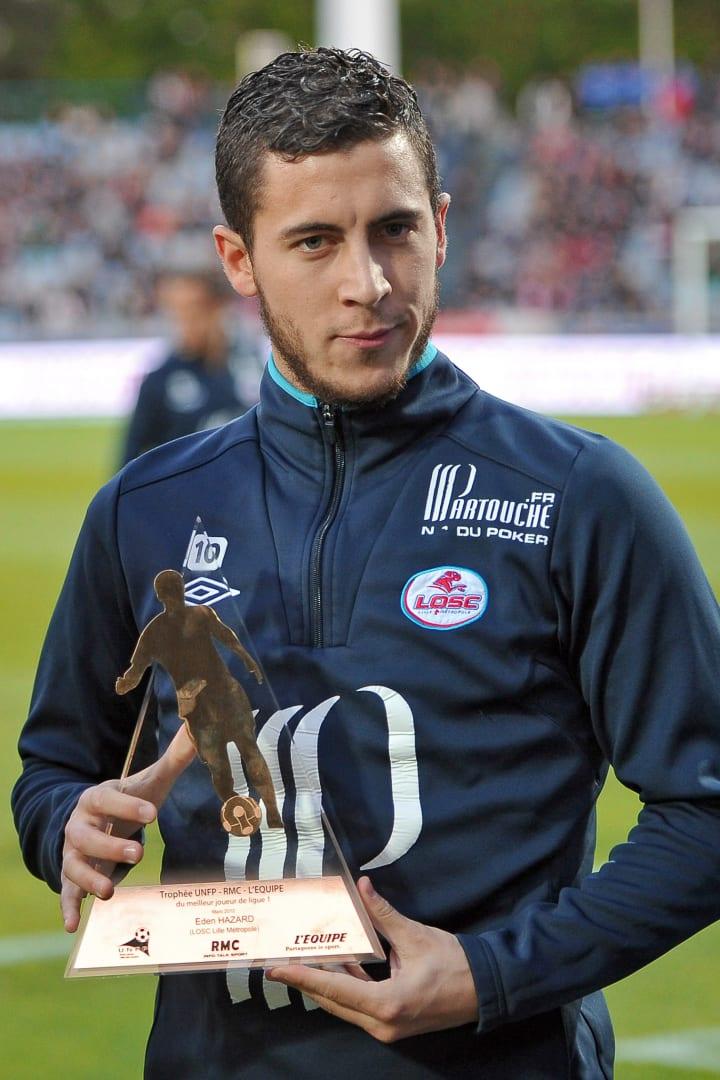 Lille's Belgian midfielder Eden Hazard s