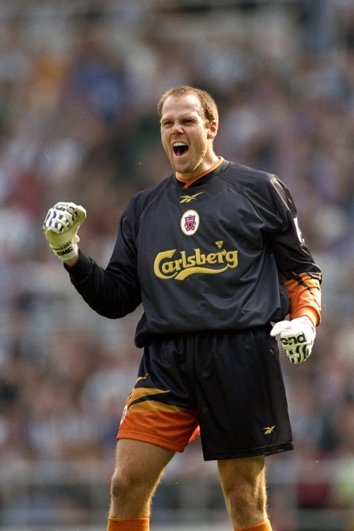 Liverpool goalkeeper Brad Friedel