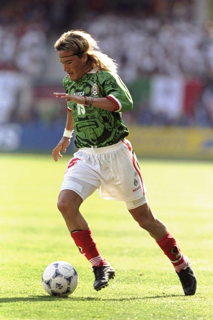 Luis Hernandez en el Mundial de Francia 1998