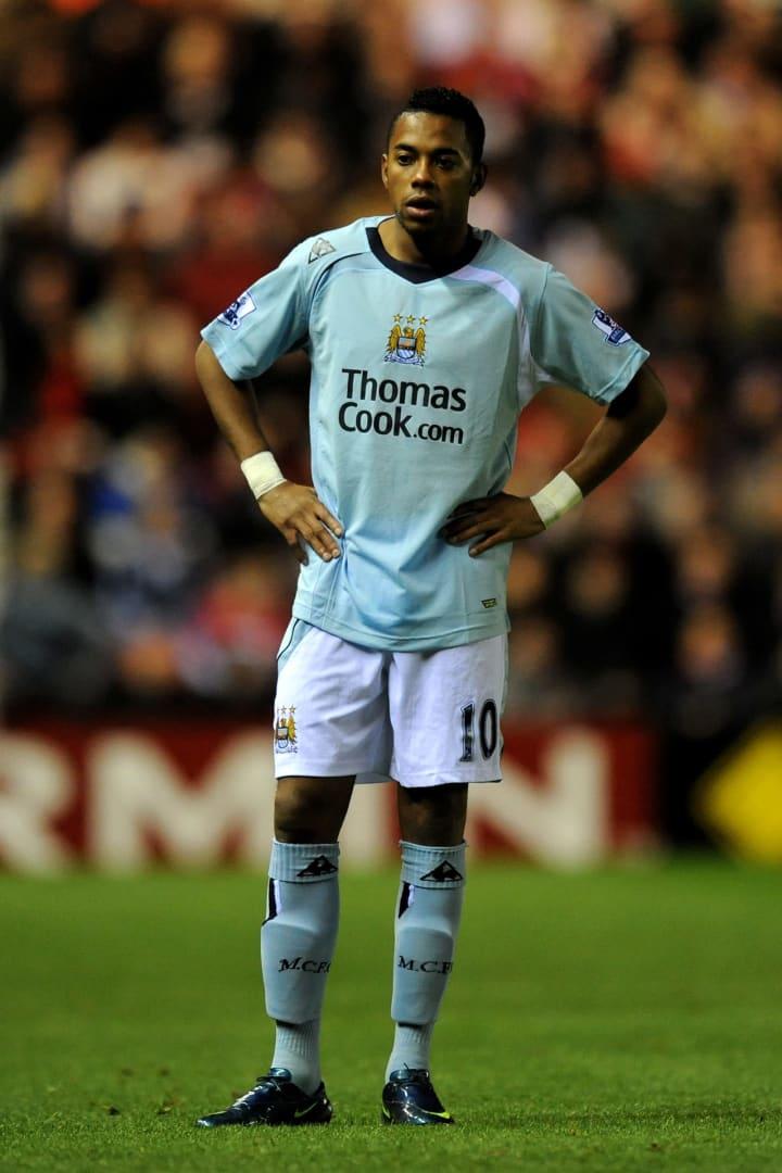Robinho made the move to Manchester City