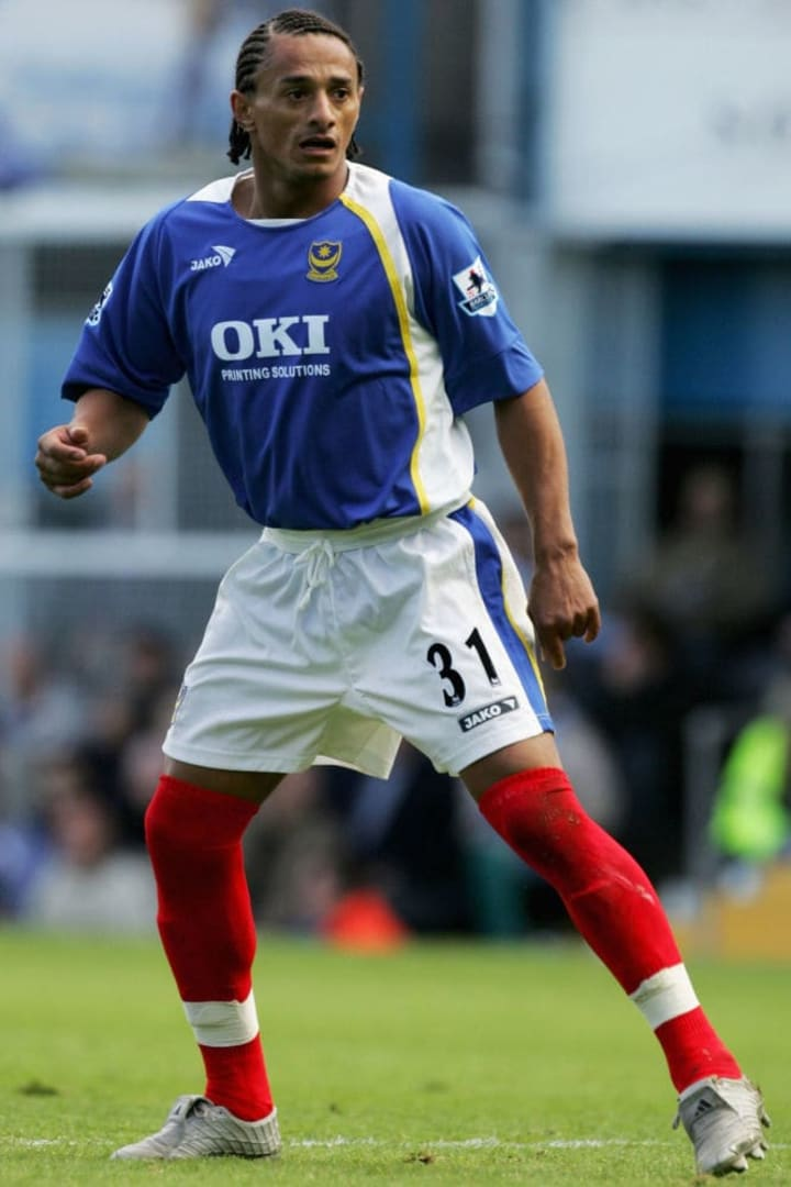 Dario Silva spent less than one season at Portsmouth before his contract was terminated