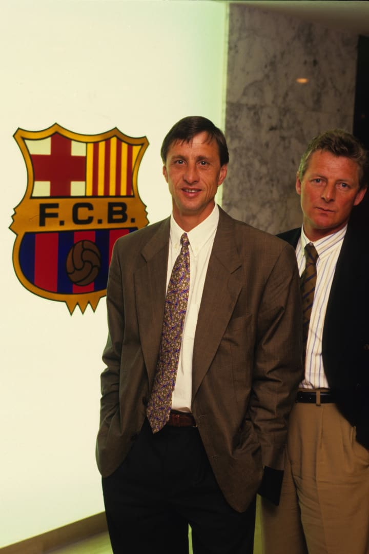 Johan Cruyff took charge of Barcelona in 1989, a club in desperate need of an identity shift