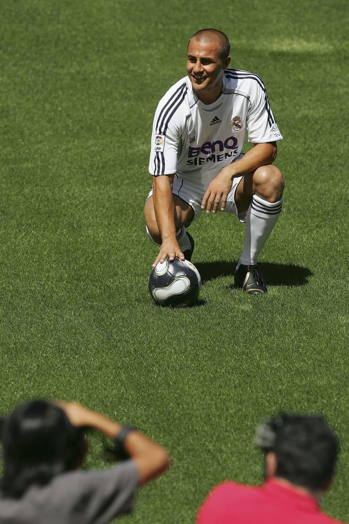 Fabio Cannavaro Juventus Real Madrid Copa do Mundo Itália