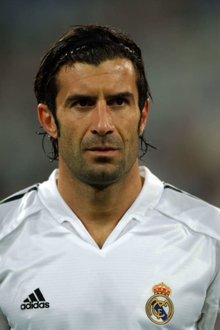 Luis Figo crossed the Clásico footballing divide during his career