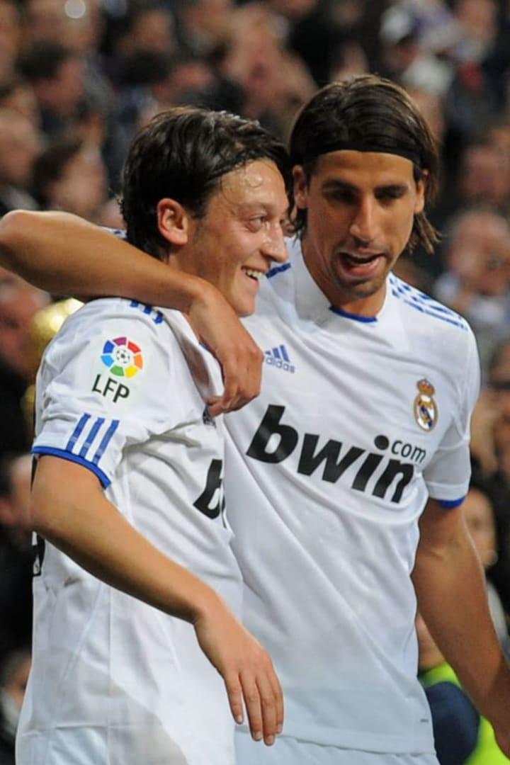 Mesut Ozil Sami Khedira Alemanha Real Madrid 2010 Copa do Mundo