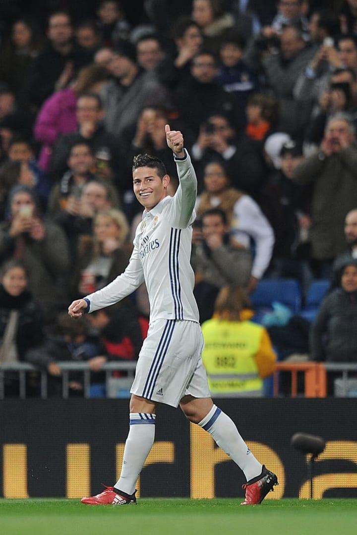 James Rodriguez Real Madrid Copa do Mundo Al-Rayyan Bayern de Munique Everton