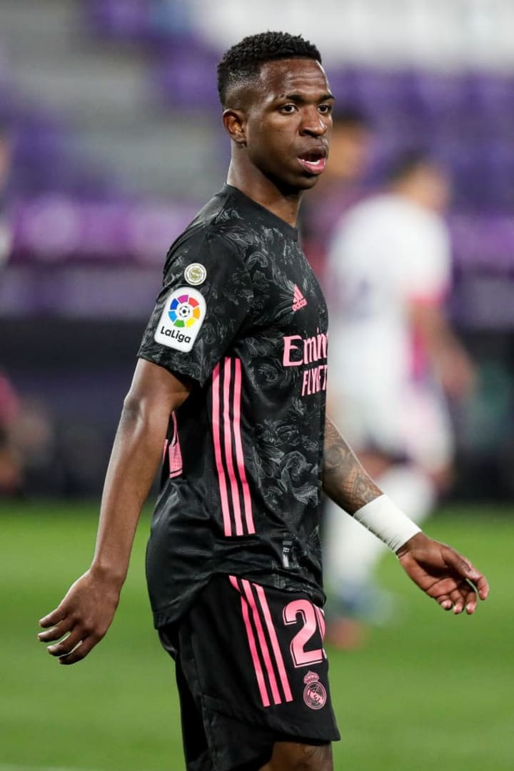 Vinicius could do with a couple of goals