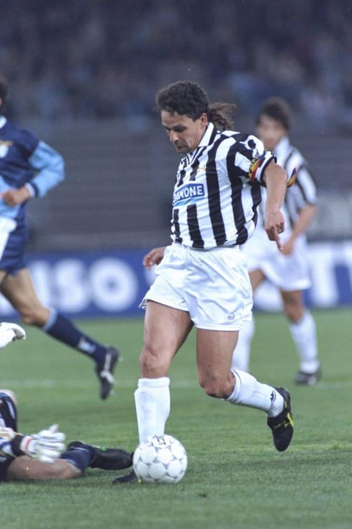 Roberto Baggio of Juventus FC