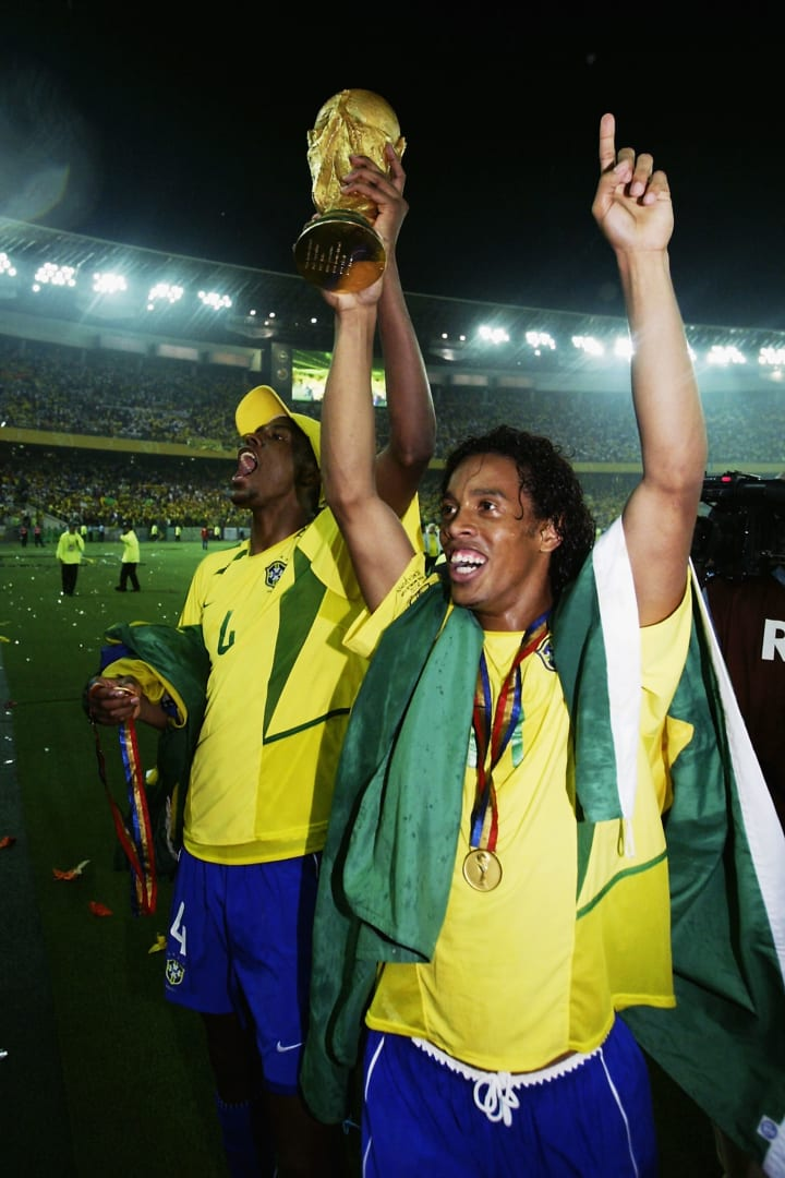 Roque Junior and Ronaldinho