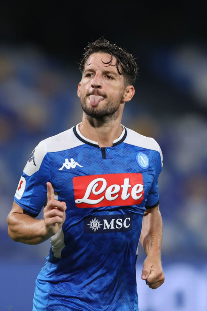 Dries Mertens has signed a new deal at Napoli