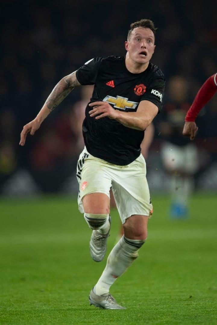 Phil Jones - Soccer Player