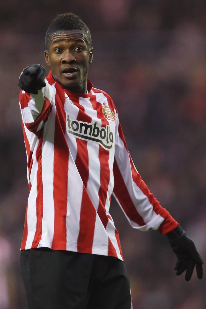 Asamoah Gyan Premier League Sunderland Gana Copa do Mundo 2010