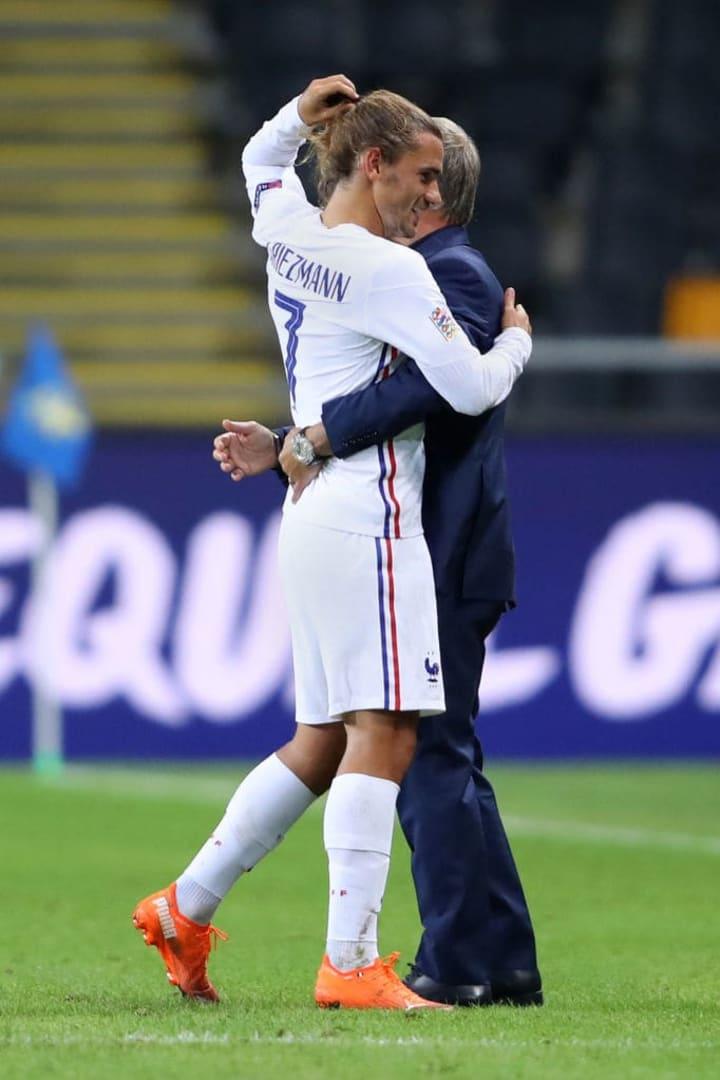 Antoine Griezmann, Didier Deschamps