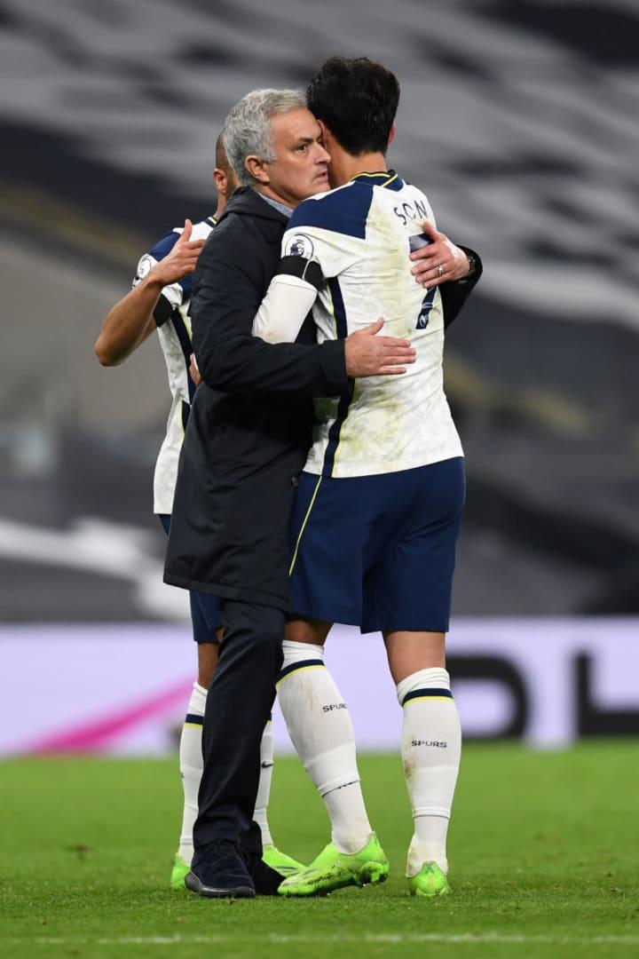 Heung-Min Son, Jose Mourinho