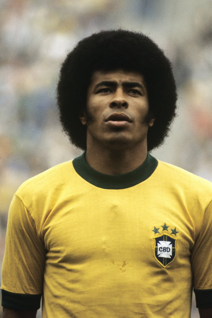 Jairzinho starred at the 1970 World Cup for Brazil
