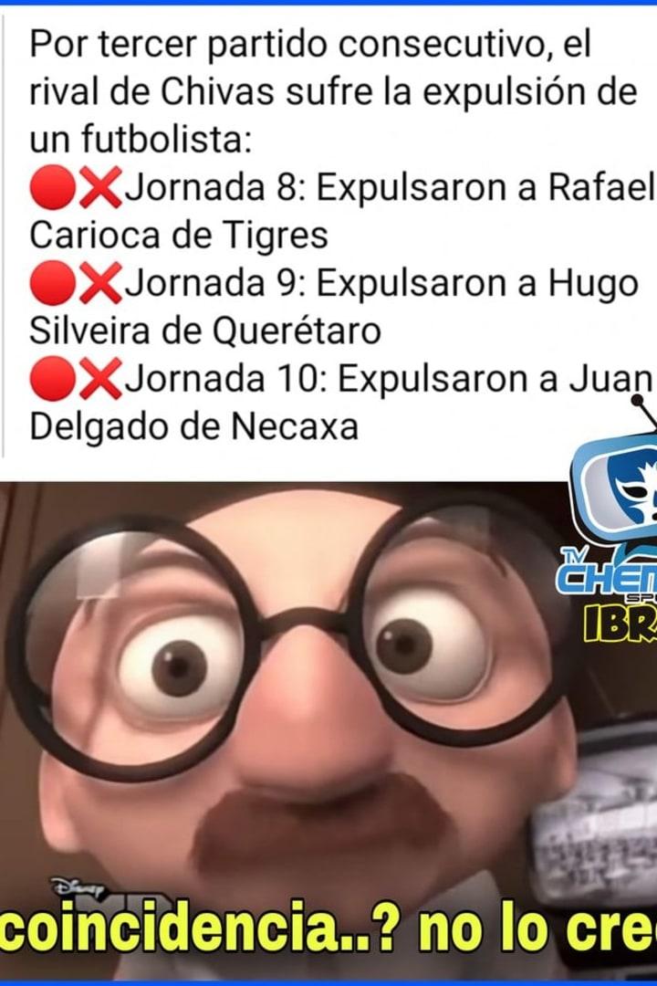 LIGA MX | Los mejores memes que dejó la Jornada 10 del Guard1anes 2020 24