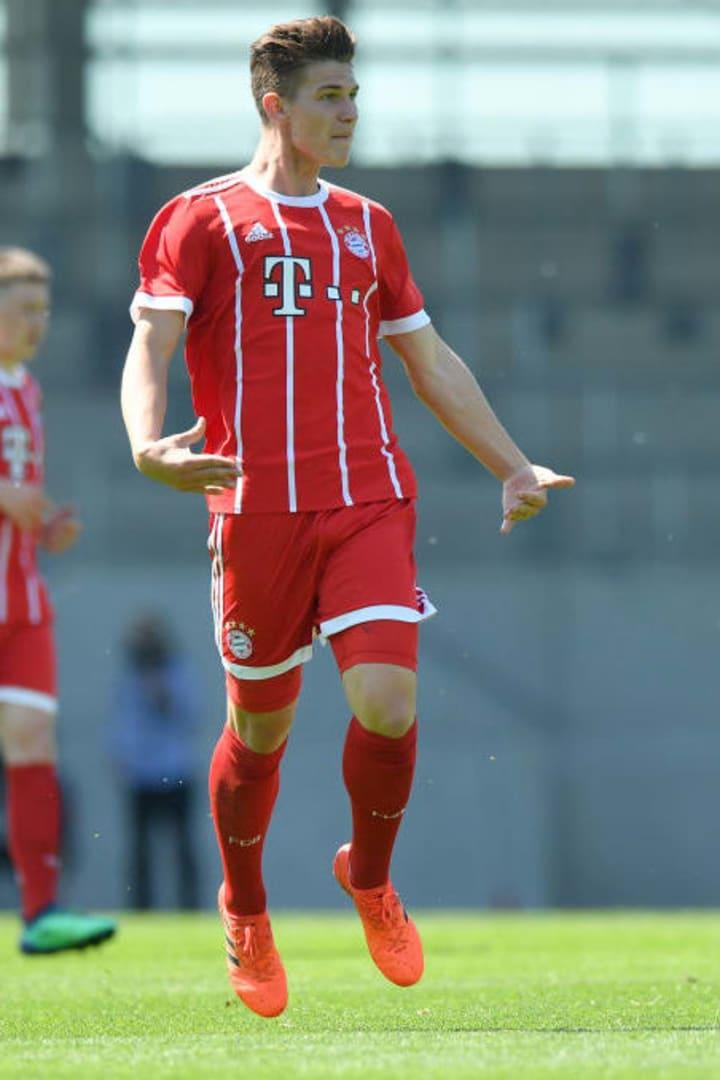 Brugger noch im Trikot der Bayern-Junioren
