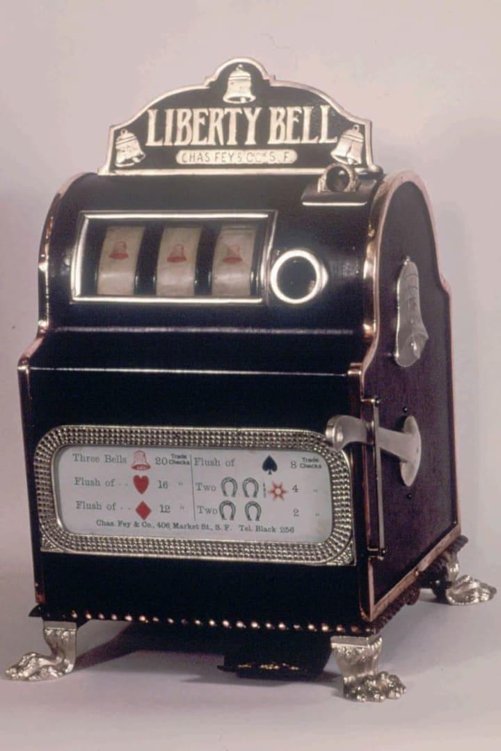 Charles Fey's Liberty Bell Slot Machine