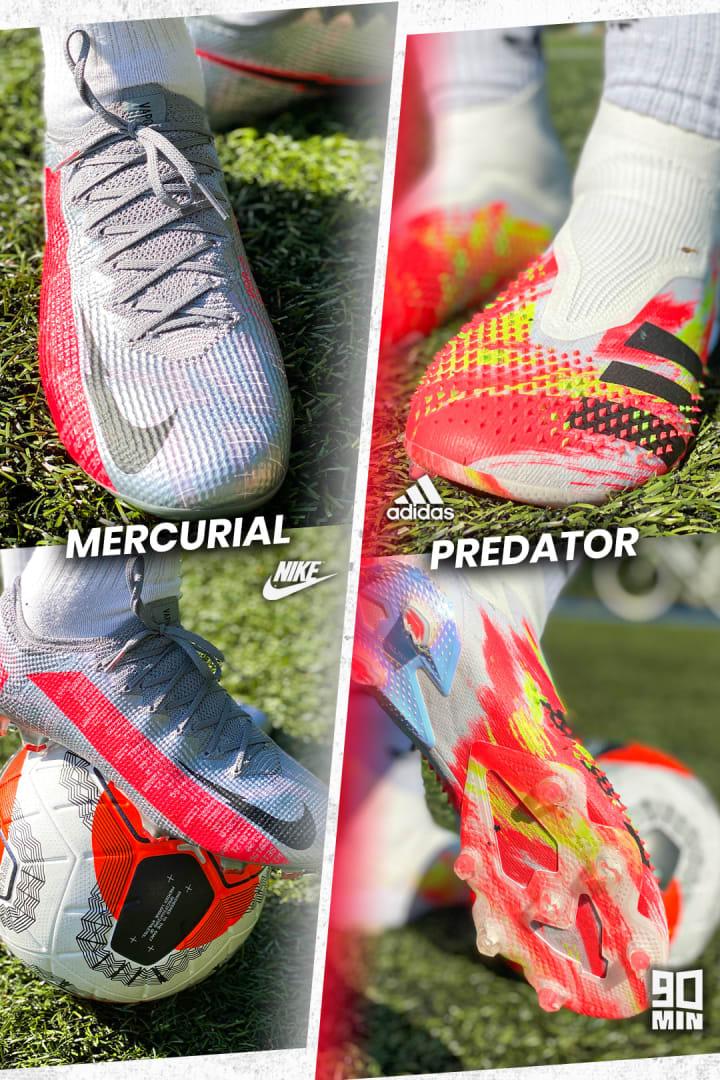 Mercurial vs Predator