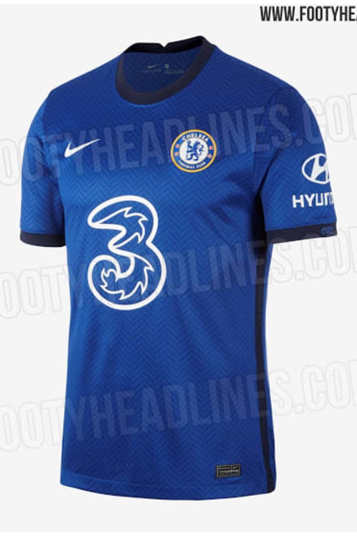 Chelsea's 2020/2021 home kit has been leaked