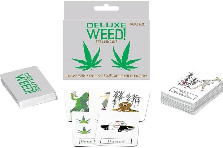 Delux Weed Card Game