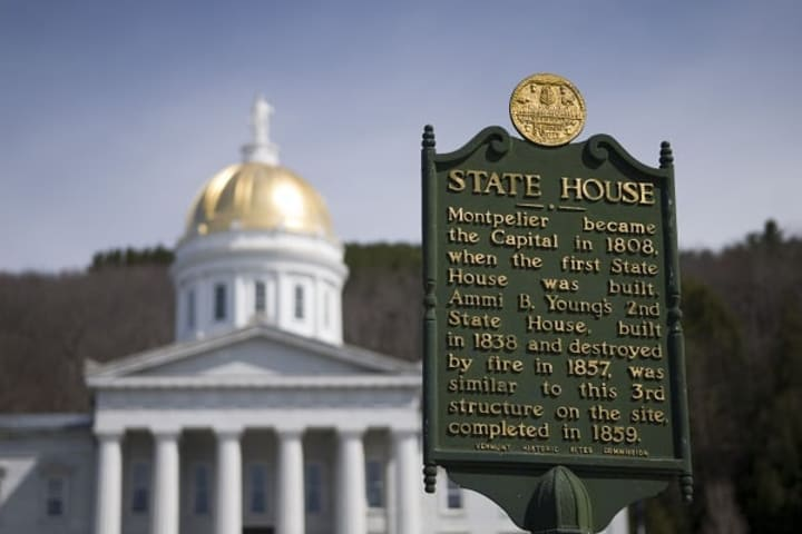 Vermont State Capital in Montpelier