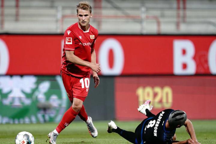 Sebastian Andersson scored 14 times in the Bundesliga last season for Union Berlin