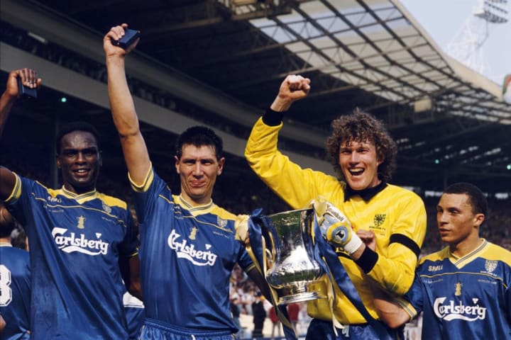 The Crazy Gang triumphed over Liverpool