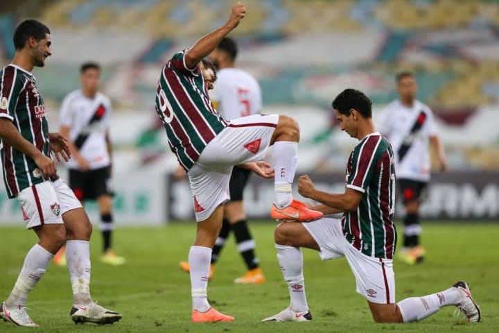 Fred Paulo Henrique Ganso Fluminense Raning Favoritismo Libertadores