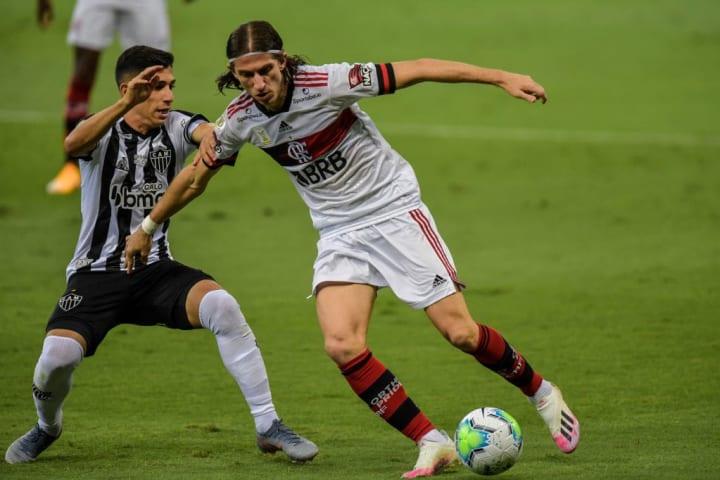 Savarino Filipe Luís Atlético-MG Flamengo Campeonato Brasileiro