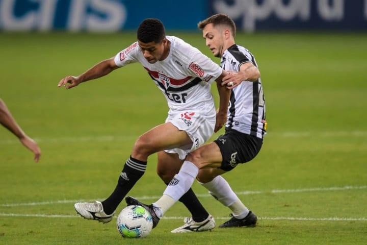 Hyoran Gabriel Sara Atlético-MG São Paulo Campeonato Brasileiro